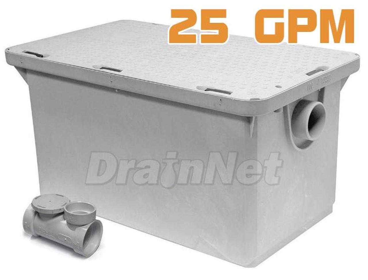 Grease Interceptor 50 LBS / 25GPM