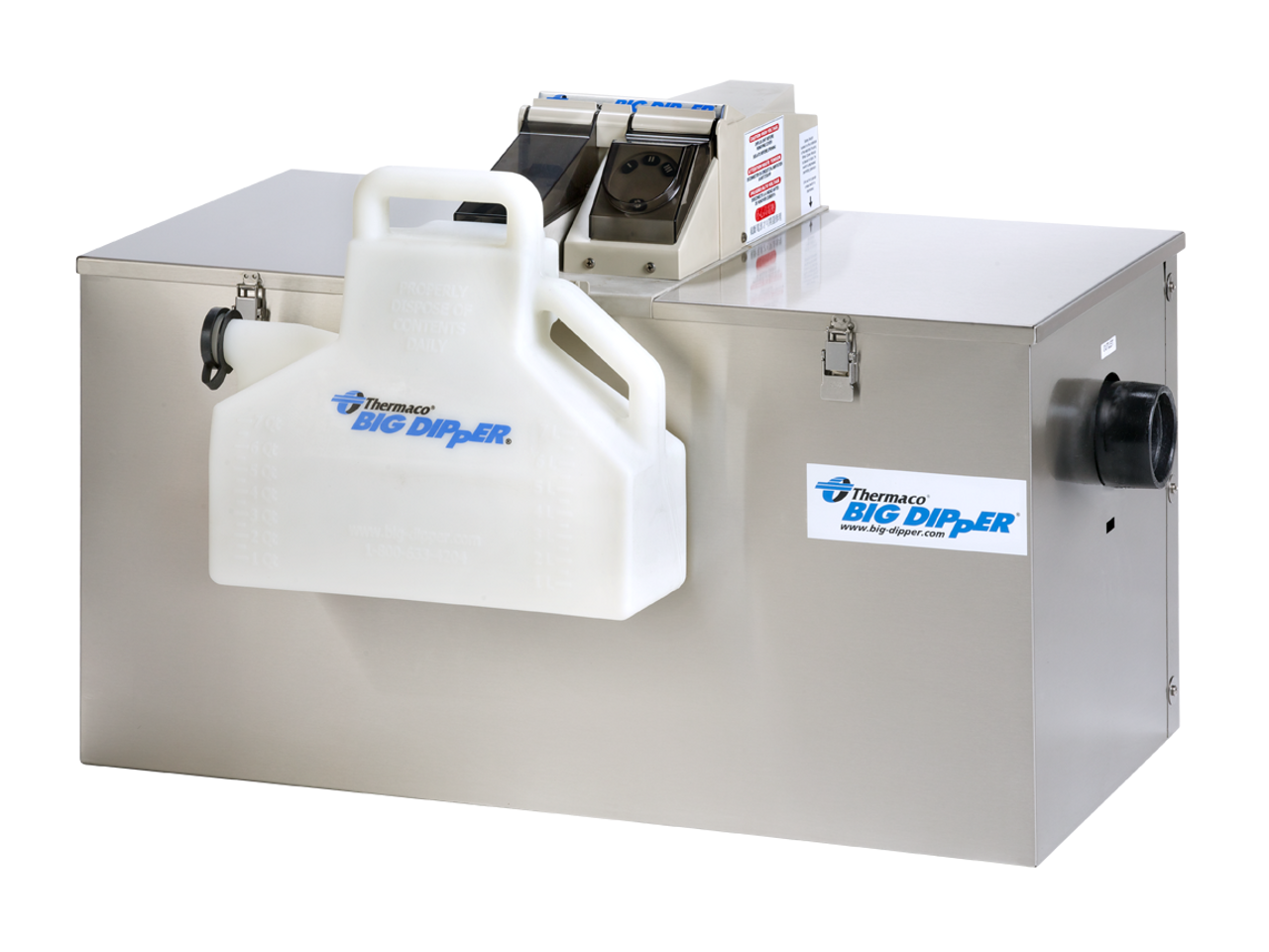 Big Dipper W500-IS Automatic Grease Trap (50 GPM)