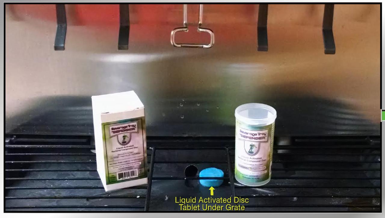Beverage Tray DEFENDER (6-pack)