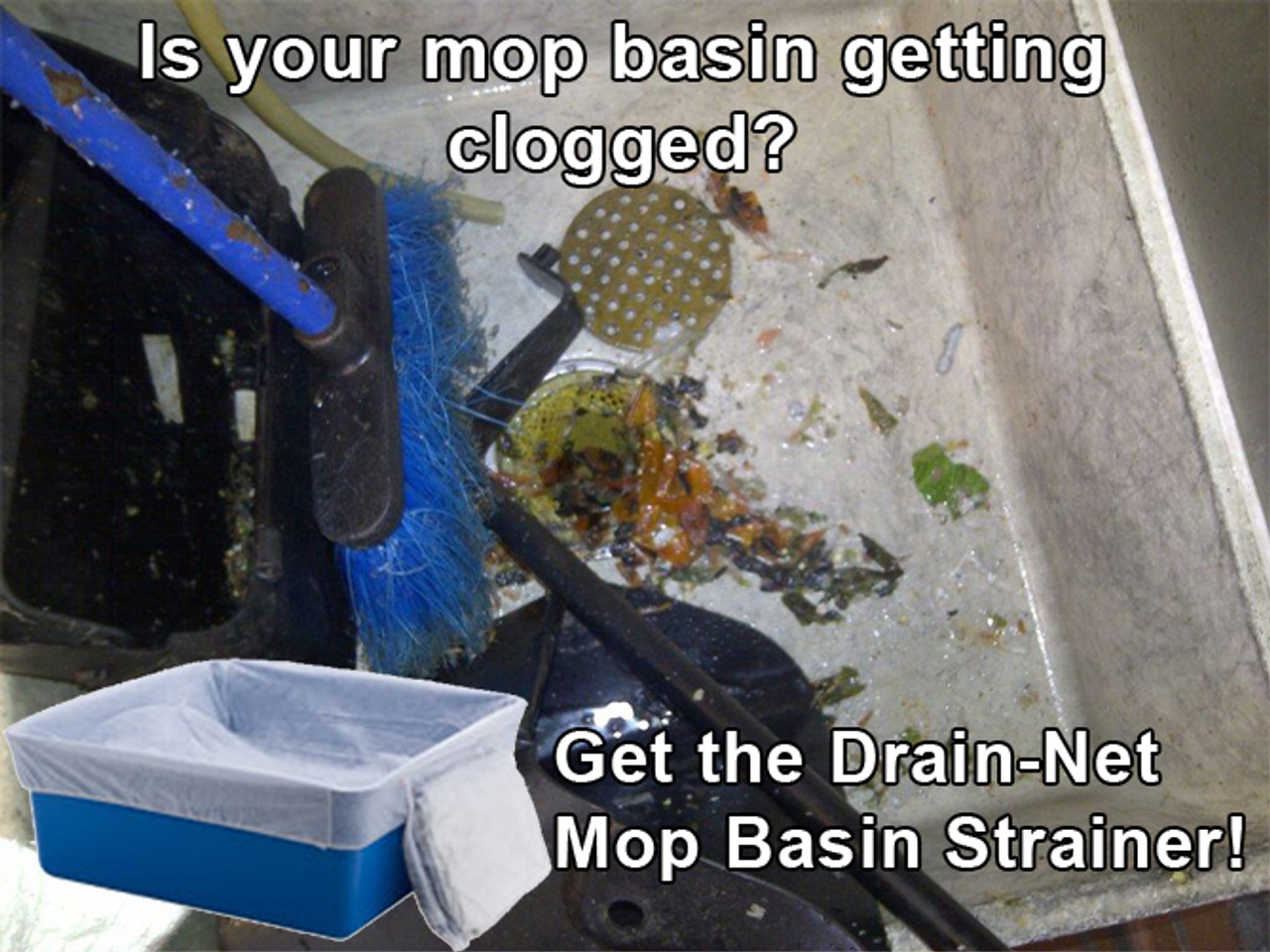 How to prevent drain clogs in mop sinks