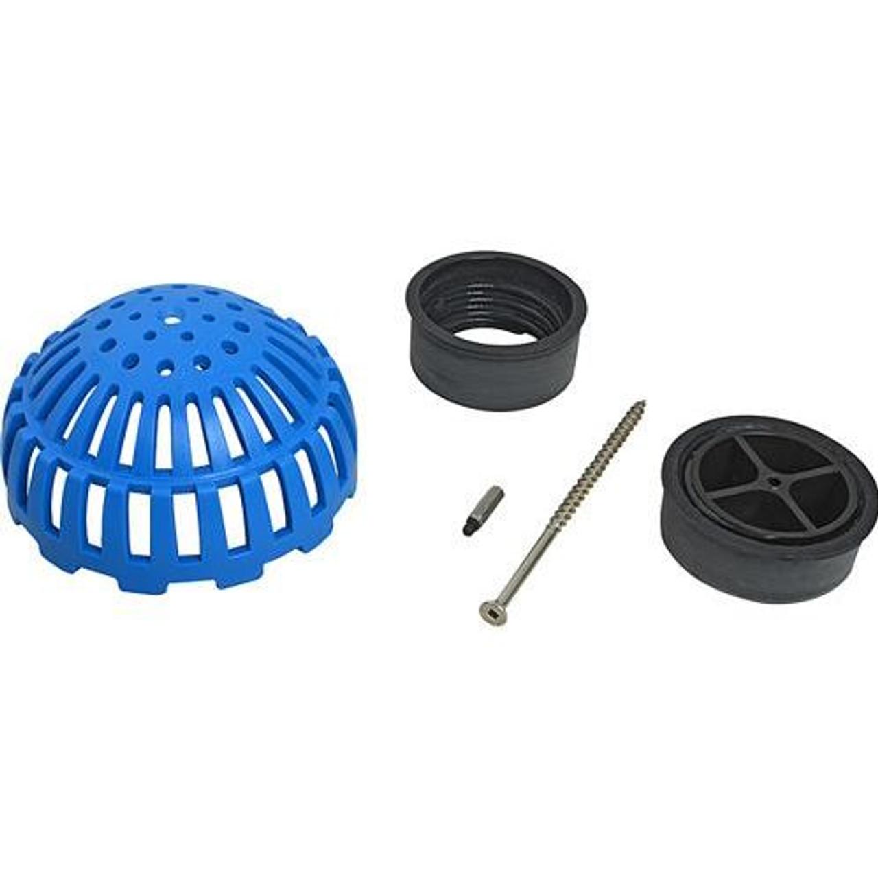Locking Dome Strainer Kit - 3 inch
