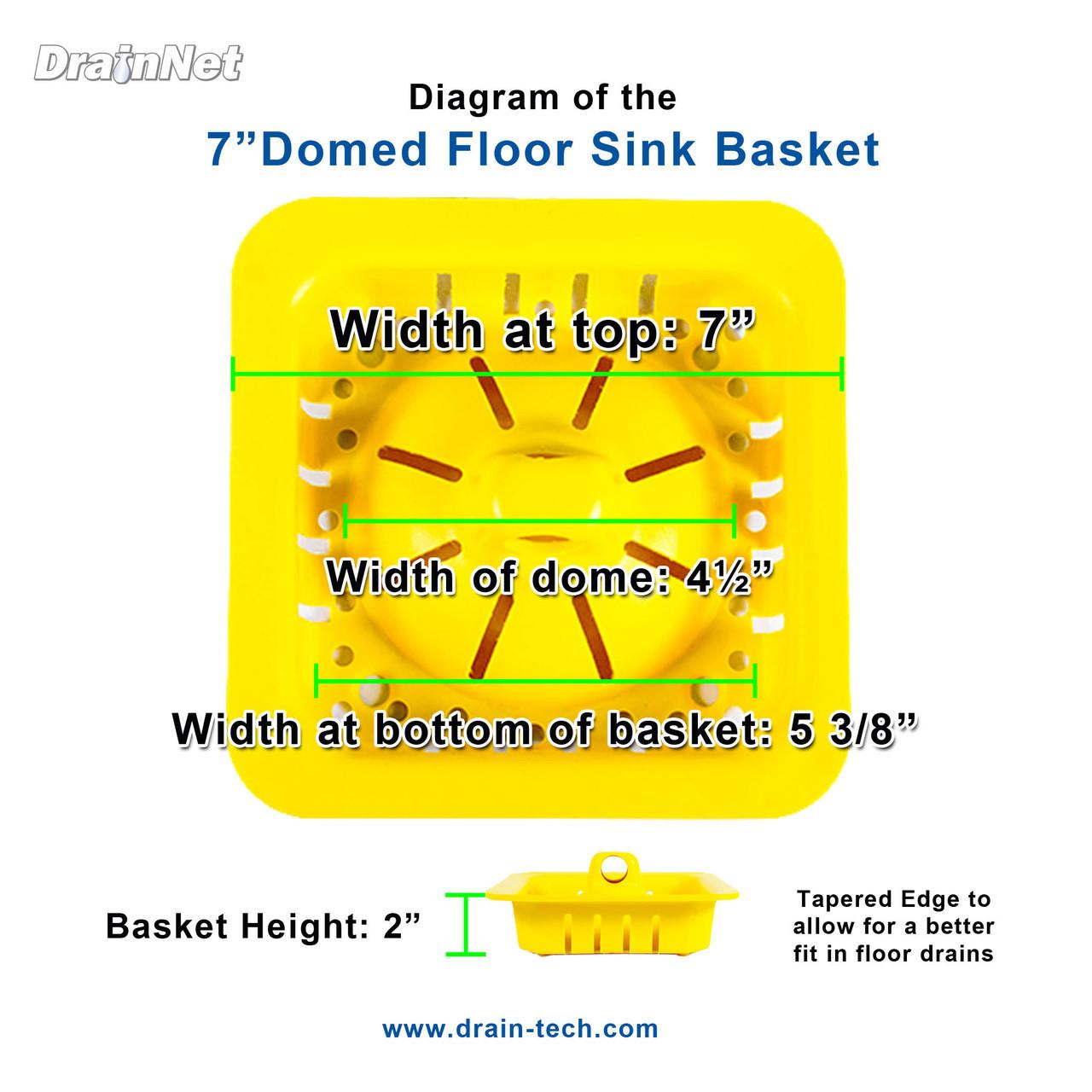 7 inch Domed Safety Basket