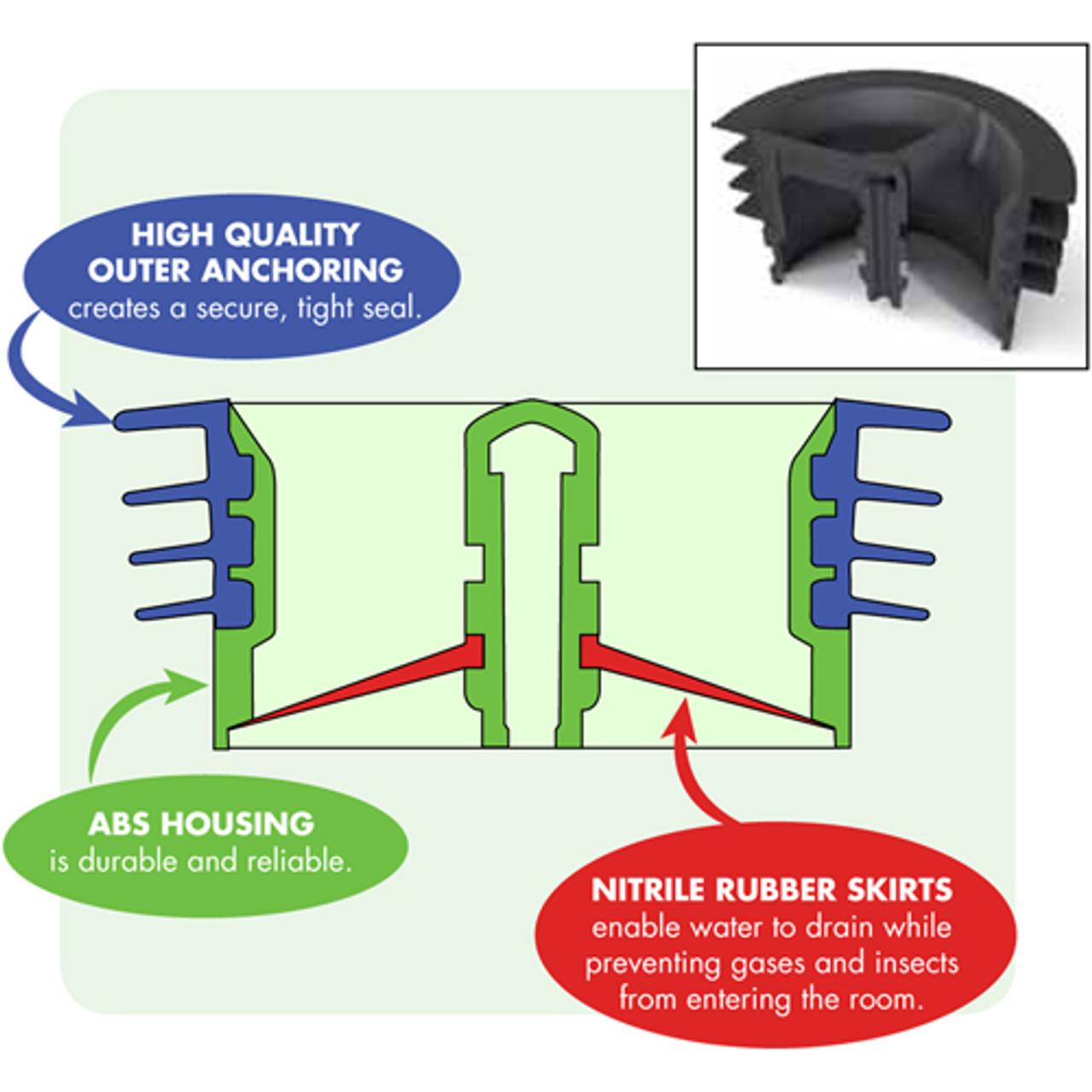 Green Drain Super Seal 3 inch