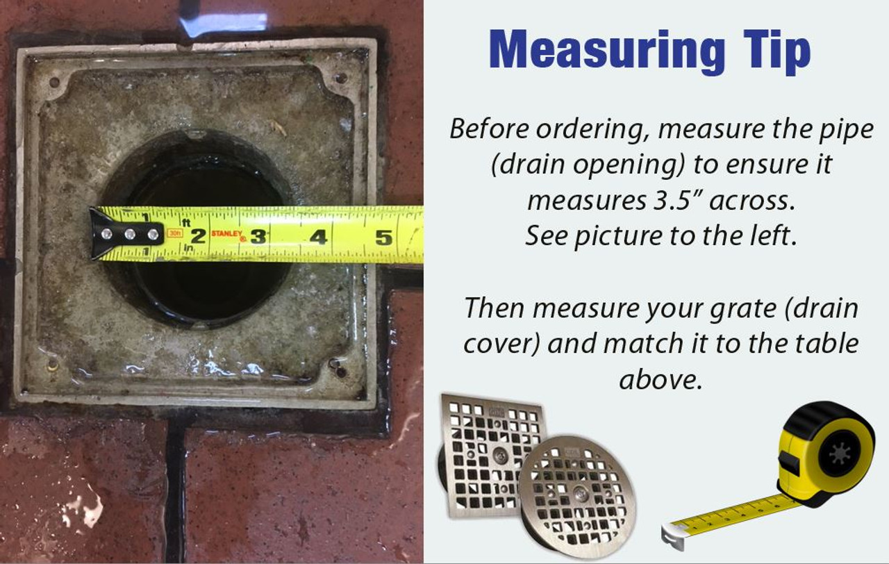 How to measure a Drain Lock