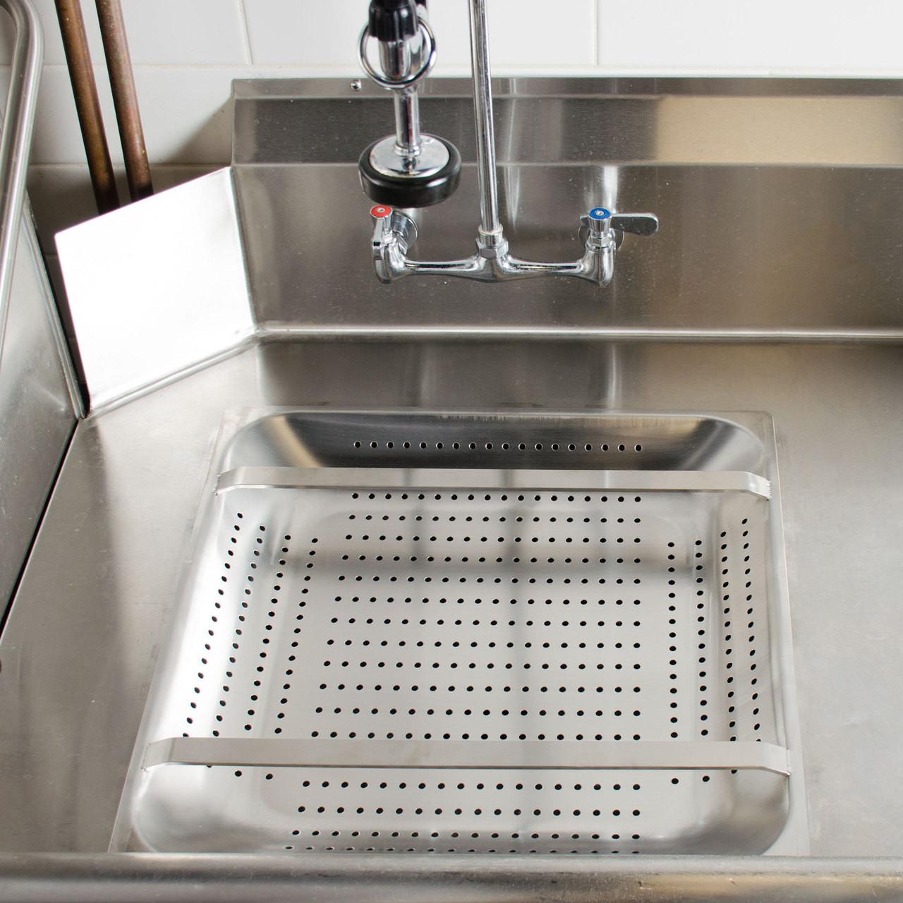 "20"" Commercial Sink Pre-Rinse Basket 2.25"" Deep"