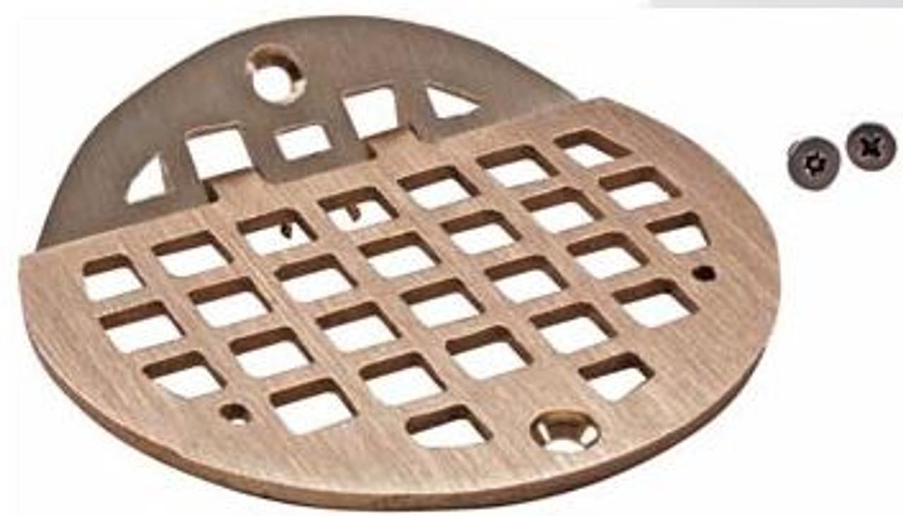 Hinged Floor Drain Grate - 6 inch Round