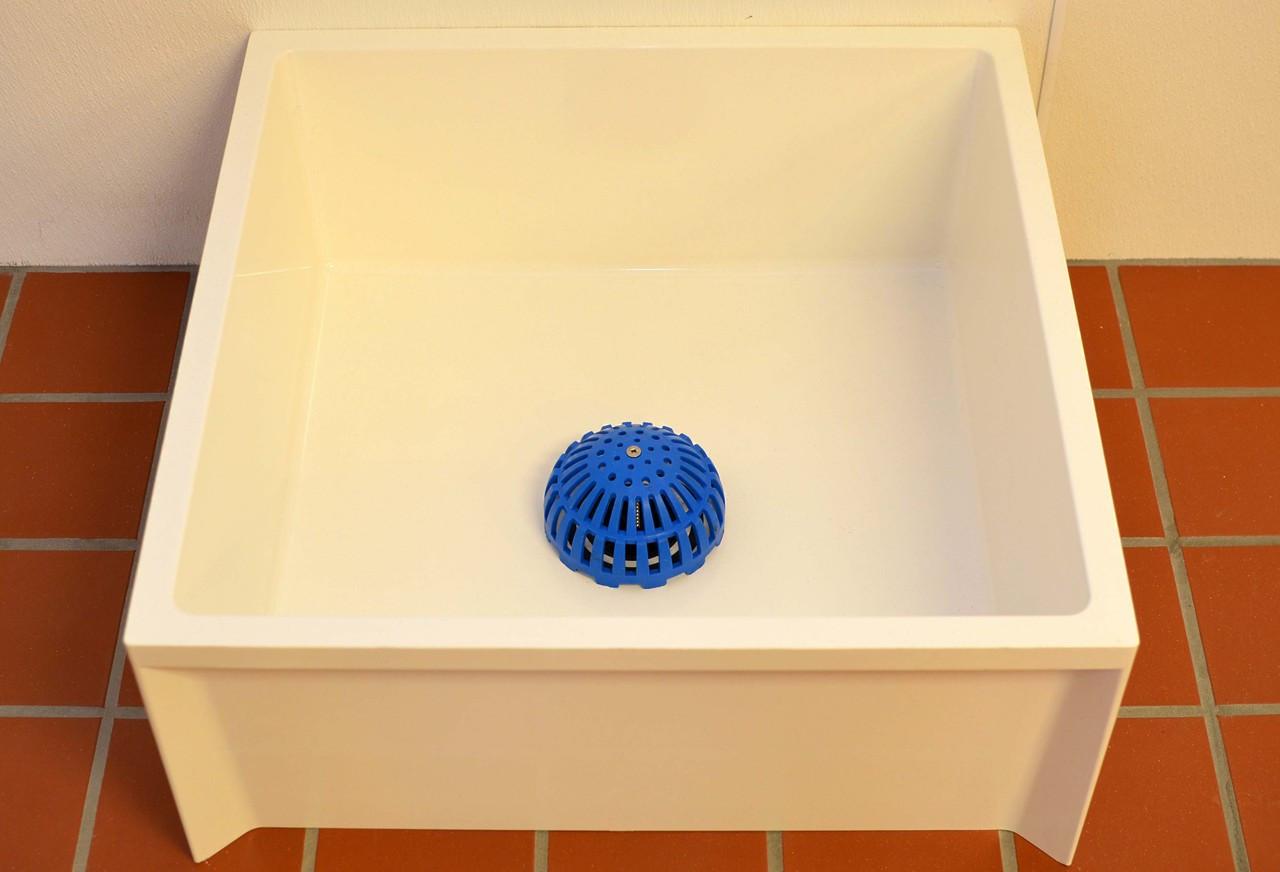 Also works great in mop sink basins!