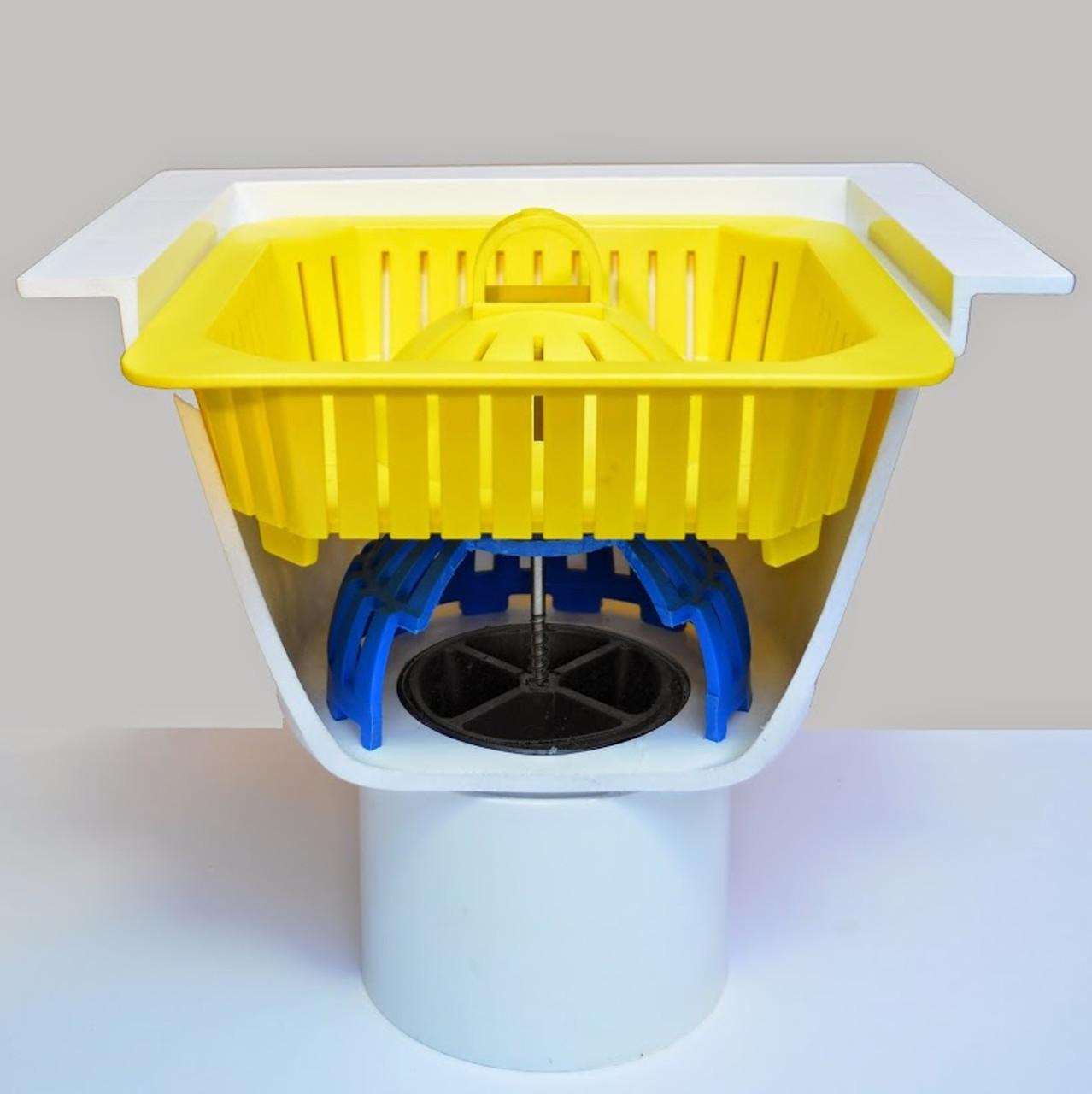 "Locking Dome Strainer Kit - 4"""