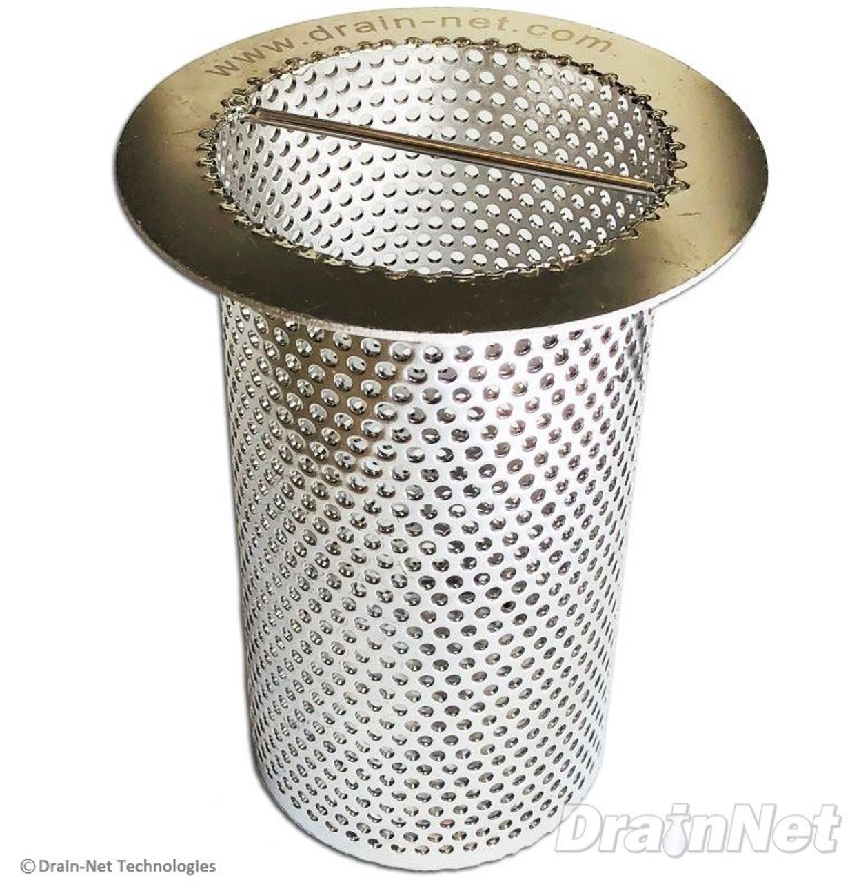 Stainless Steel Perforated Drain Strainer