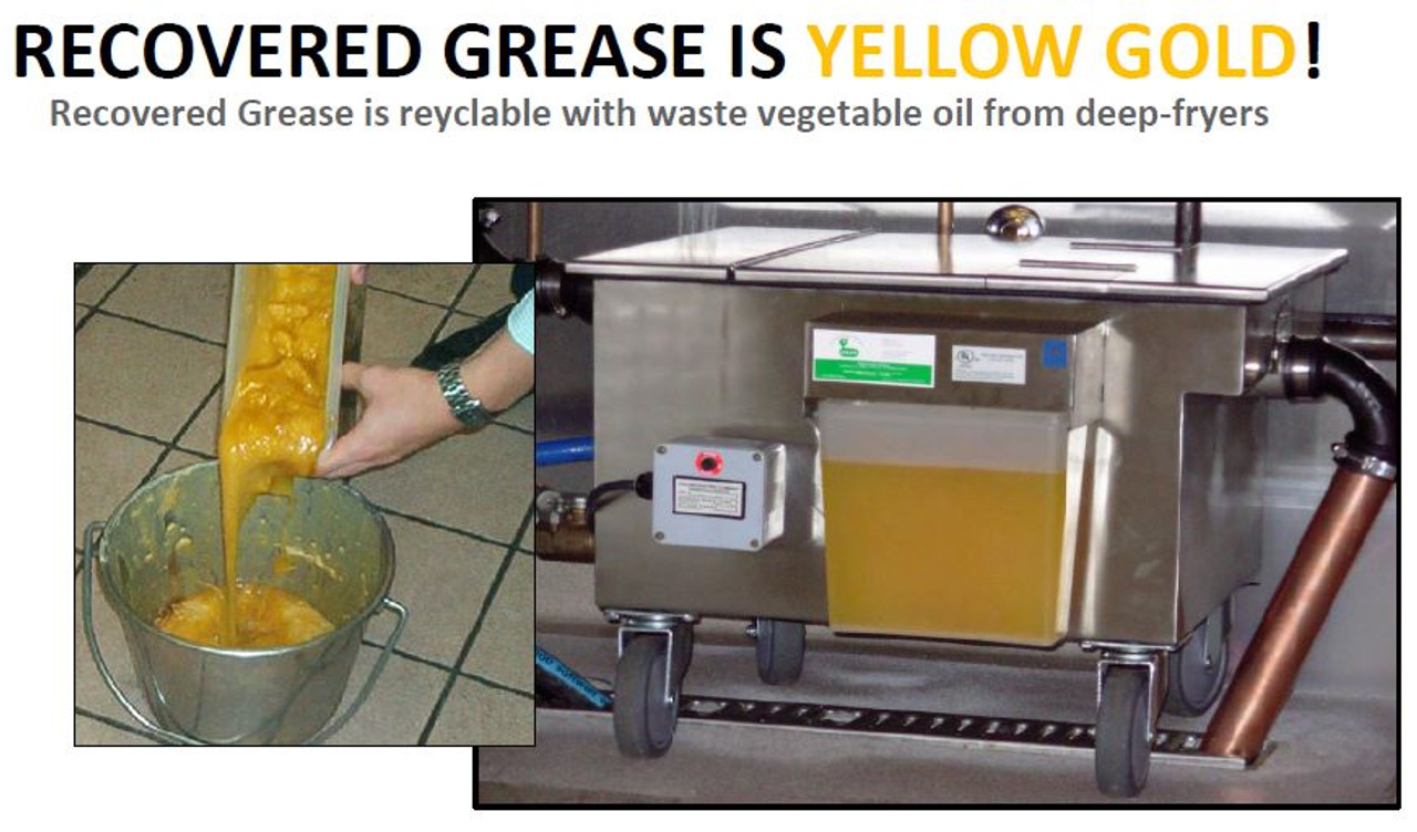 15 GPM Automatic Grease Removal Device