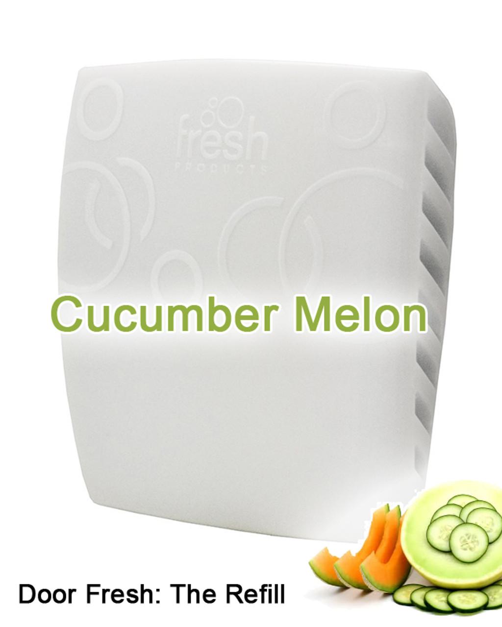 Door Fresh Fragrance Insert - 12 pack - Cucumber Melon