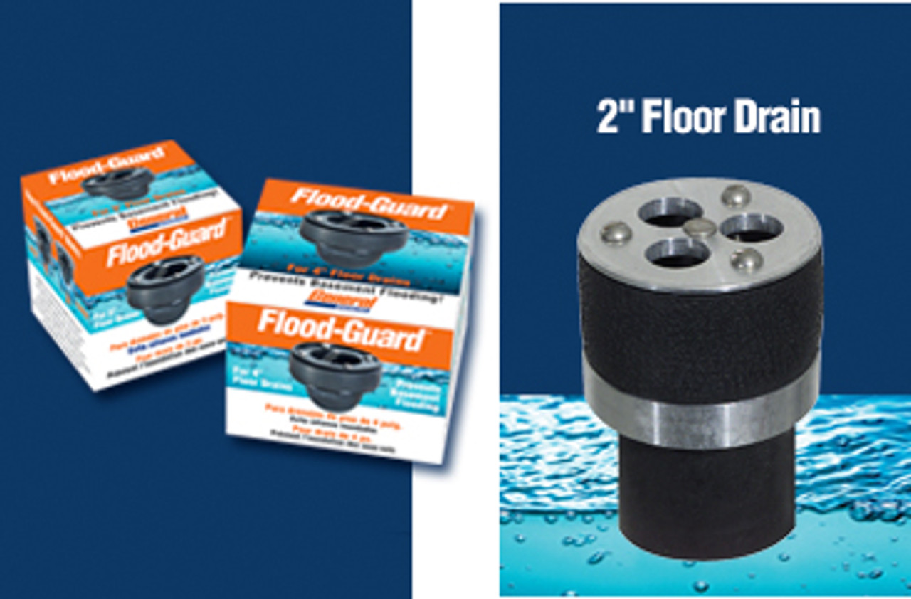 "Drain Flood Protector (2"" Float Model)"