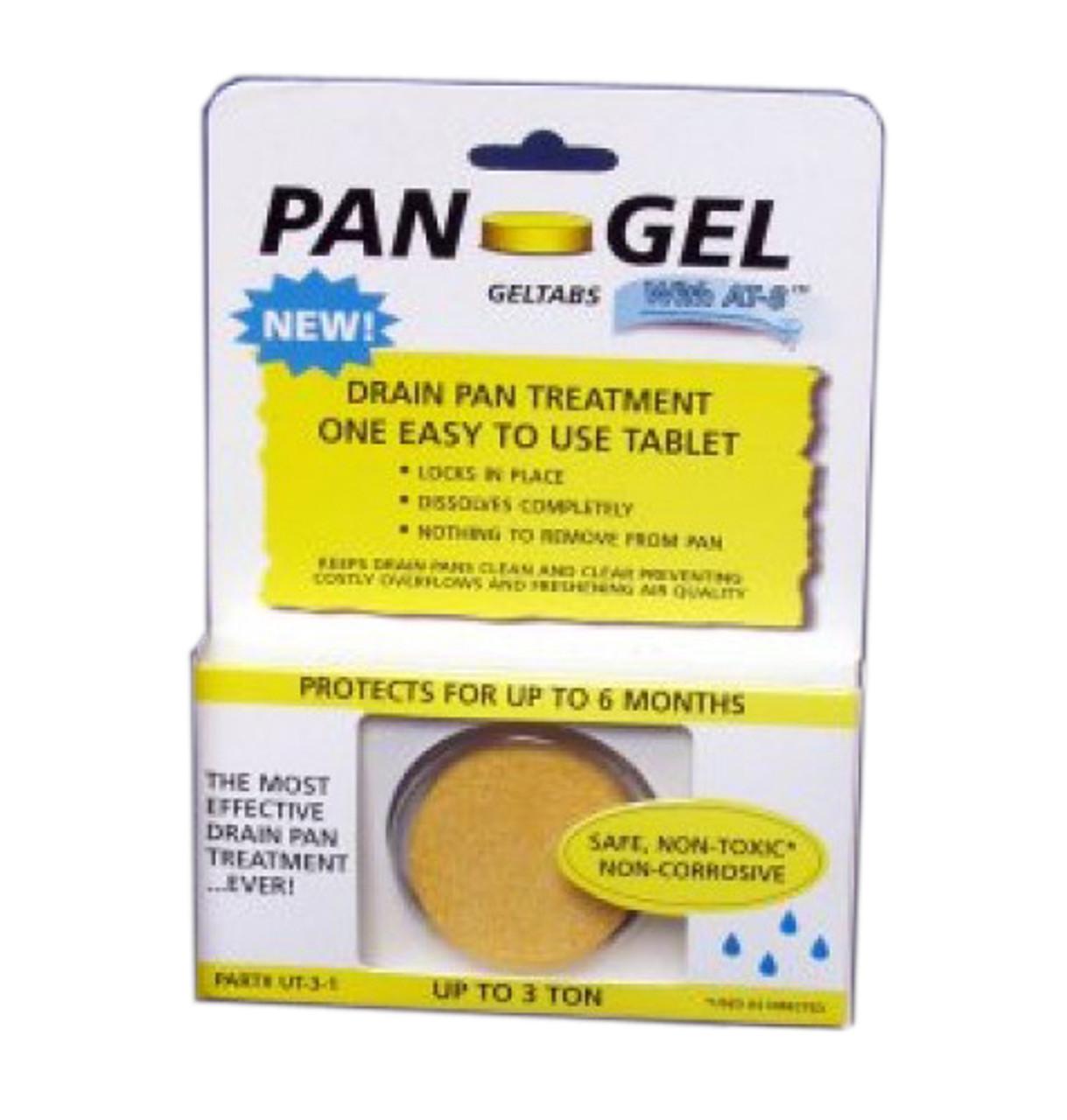 Ac Drain Pan Treatment Geltabs Drain Net Technologies