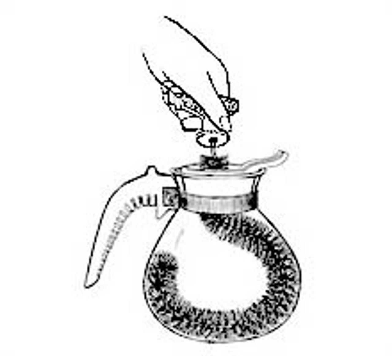 Deluxe Coffee Pot Brush - Drain-Net Technologies