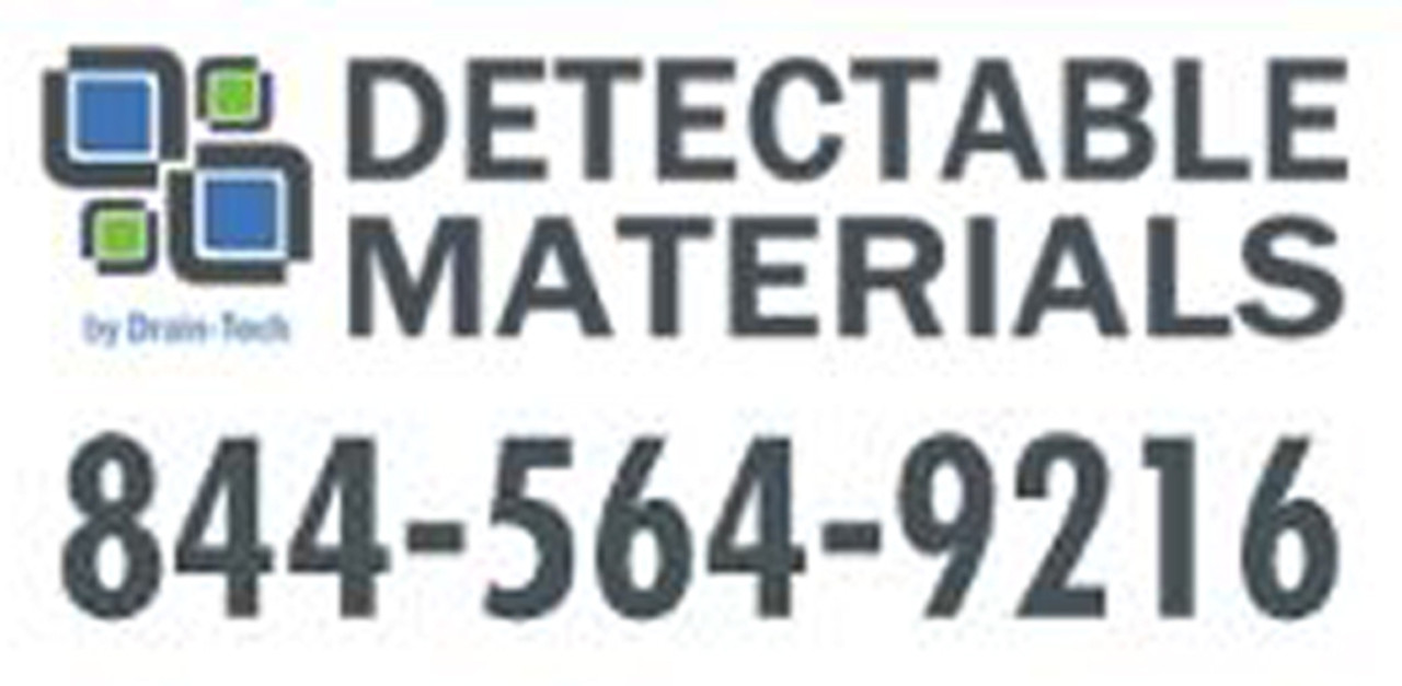 Visit DetectableMaterials.com