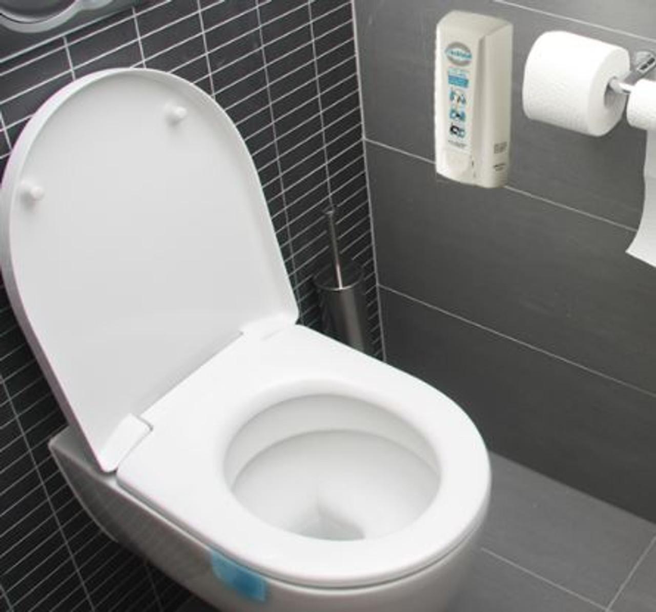 FreshSeat Foam Dispenser - Get Clean Public Toilet Seats!