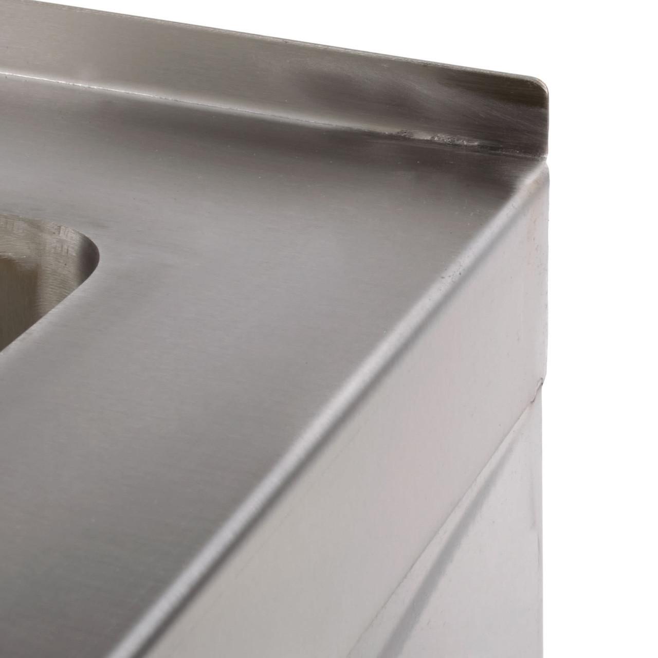 "Floor Mounted Mop Sink  25""W x 21""D x 10""H"