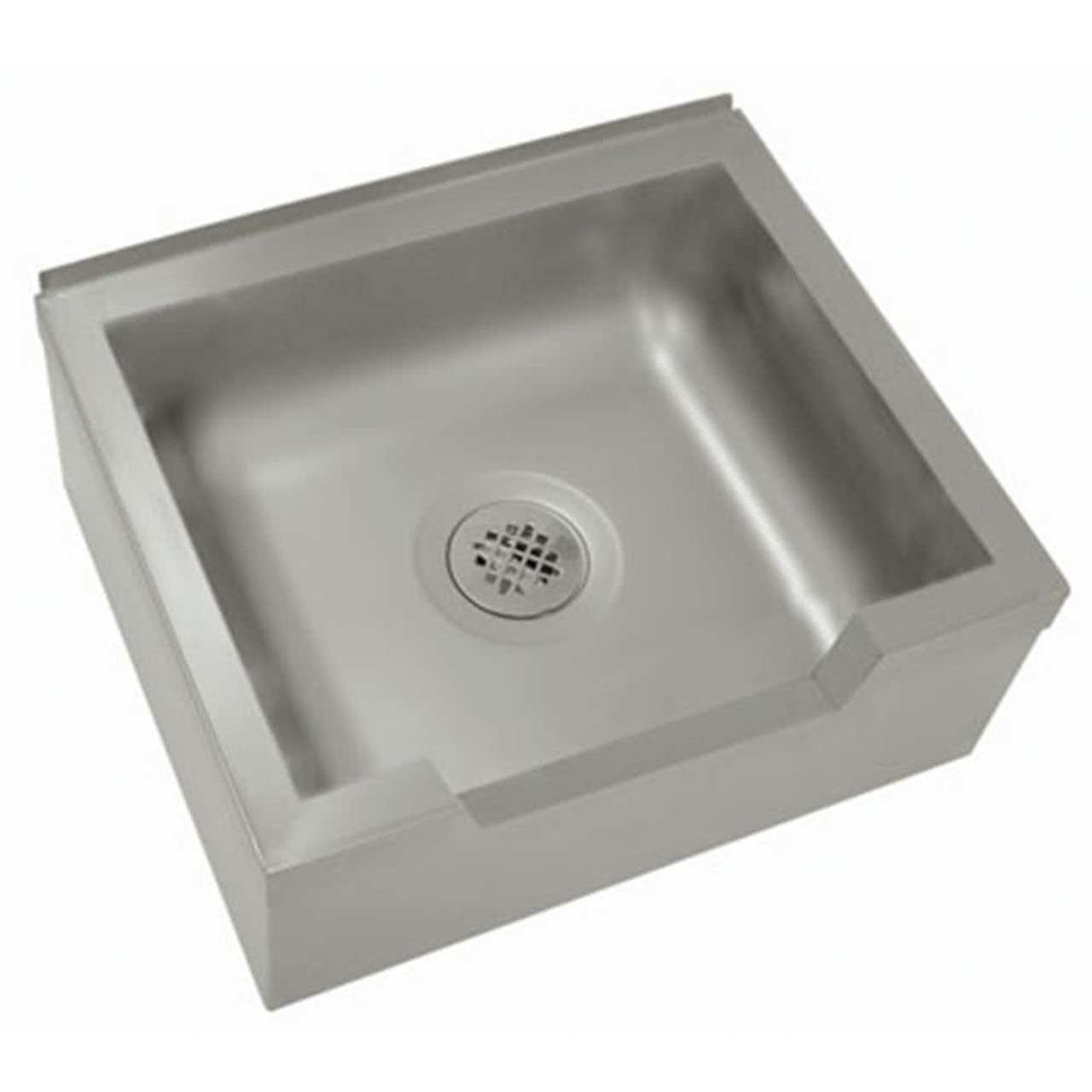 """Floor Mounted Mop Sink with Drop Front 25""""W x 21""""D x 16""""H"""