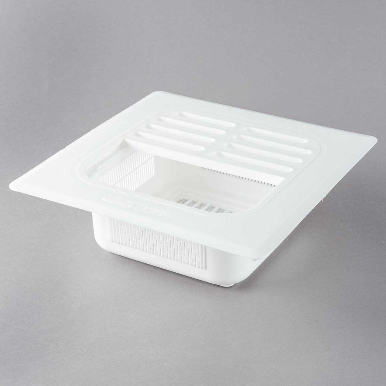 """Floor Sink Basket 8"""" with flange and grate"""