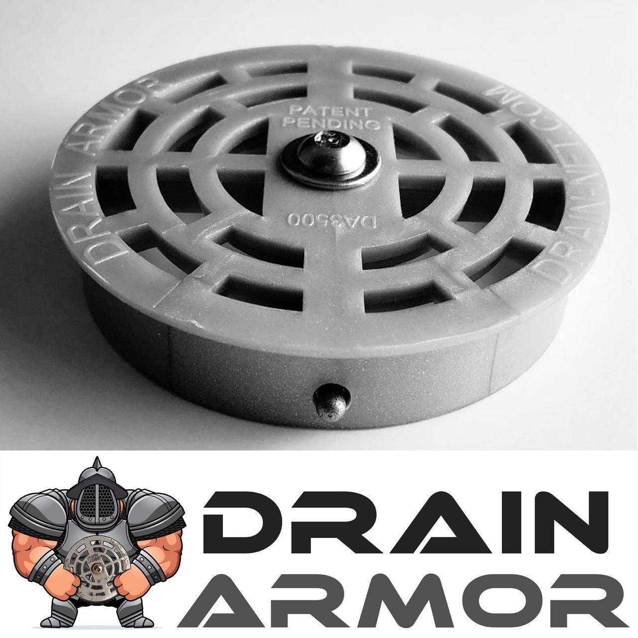 Drain Armor Commercial Sink Strainer Drain Lock