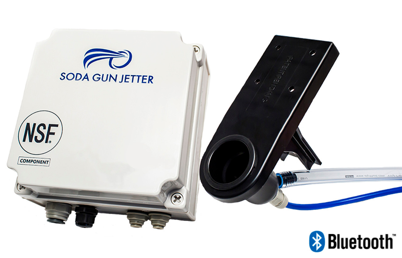 Soda Gun Jetter  (1-2 Bar Soda Gun Cleaning System with Bluetooth wireless connectivity)