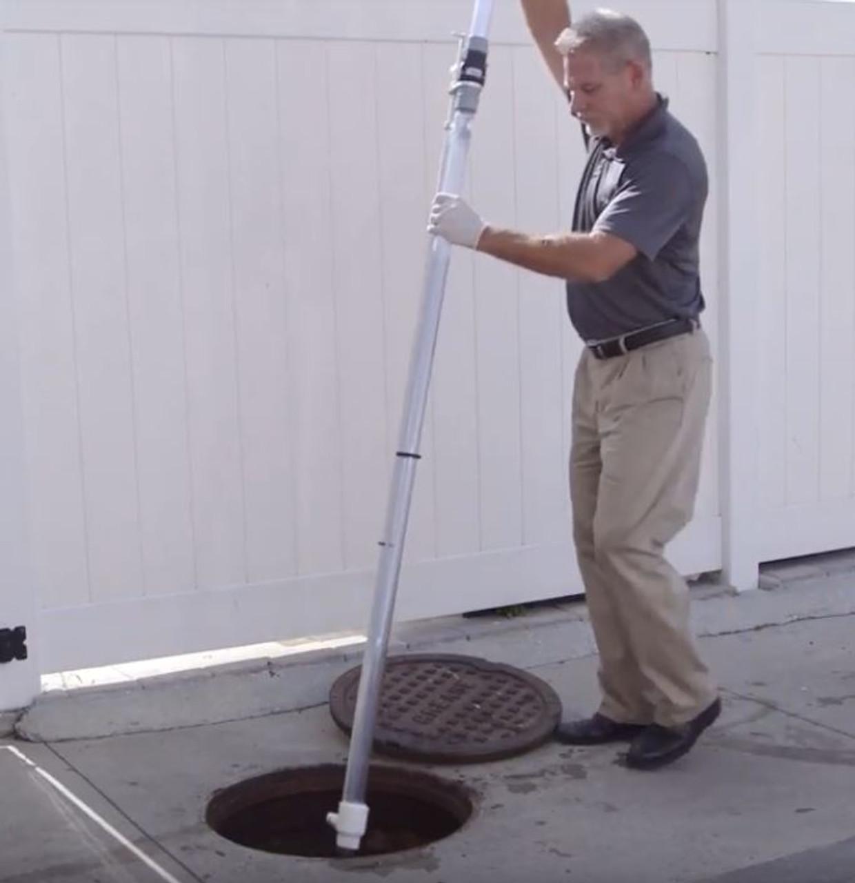 DipStick Pro™ Grease Trap & Tank Sampler to measure Sludge (6 feet long)
