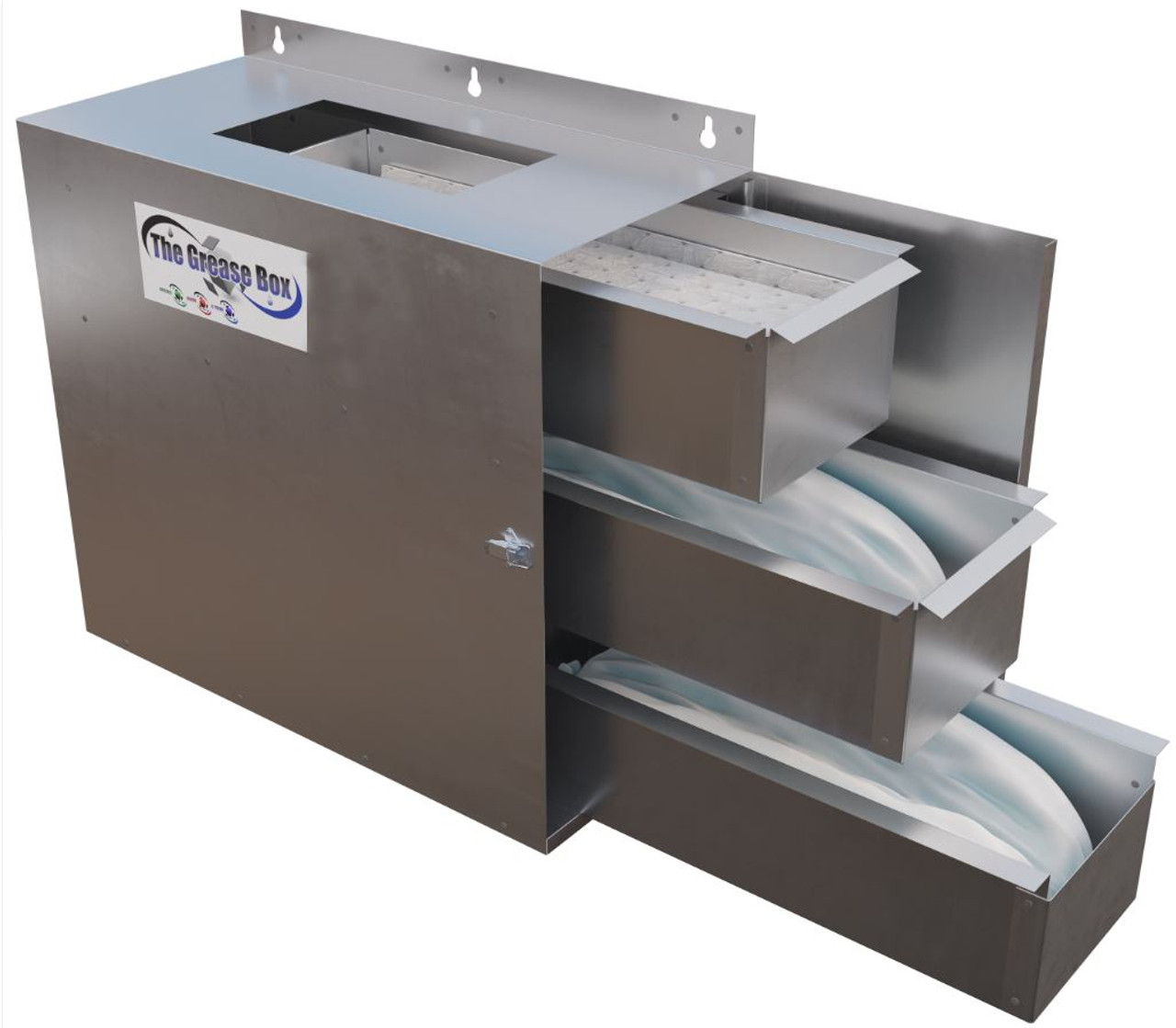 Grease Box (Enclosed protection to protect the rooftop from grease)
