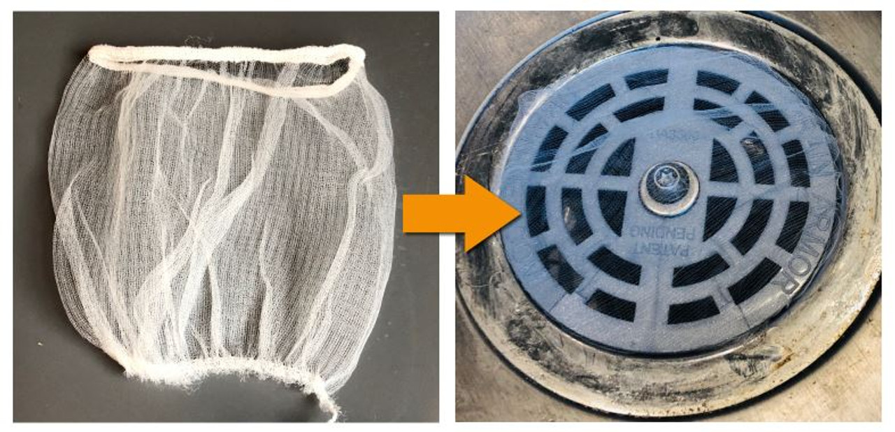 Fine Filters for Sink Strainers (50-pack)
