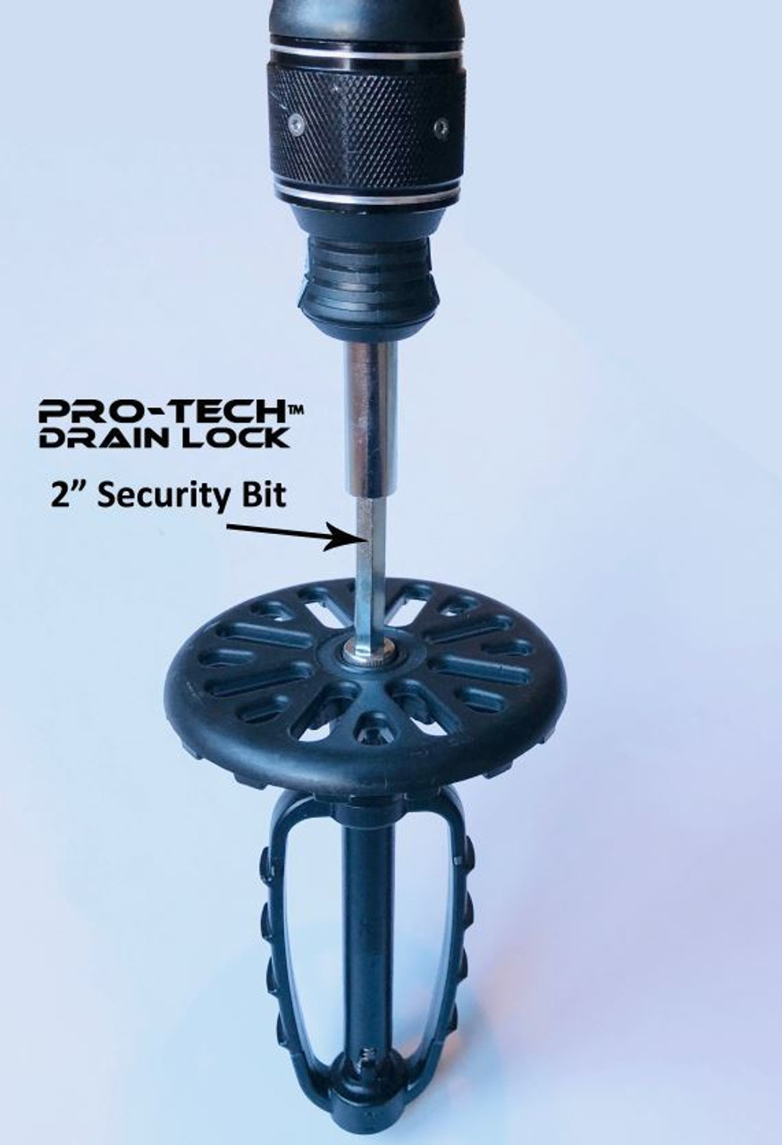 "Pro-Tech™ Drain Lock with Fine Strainer - 3"" - Drain-Net ..."