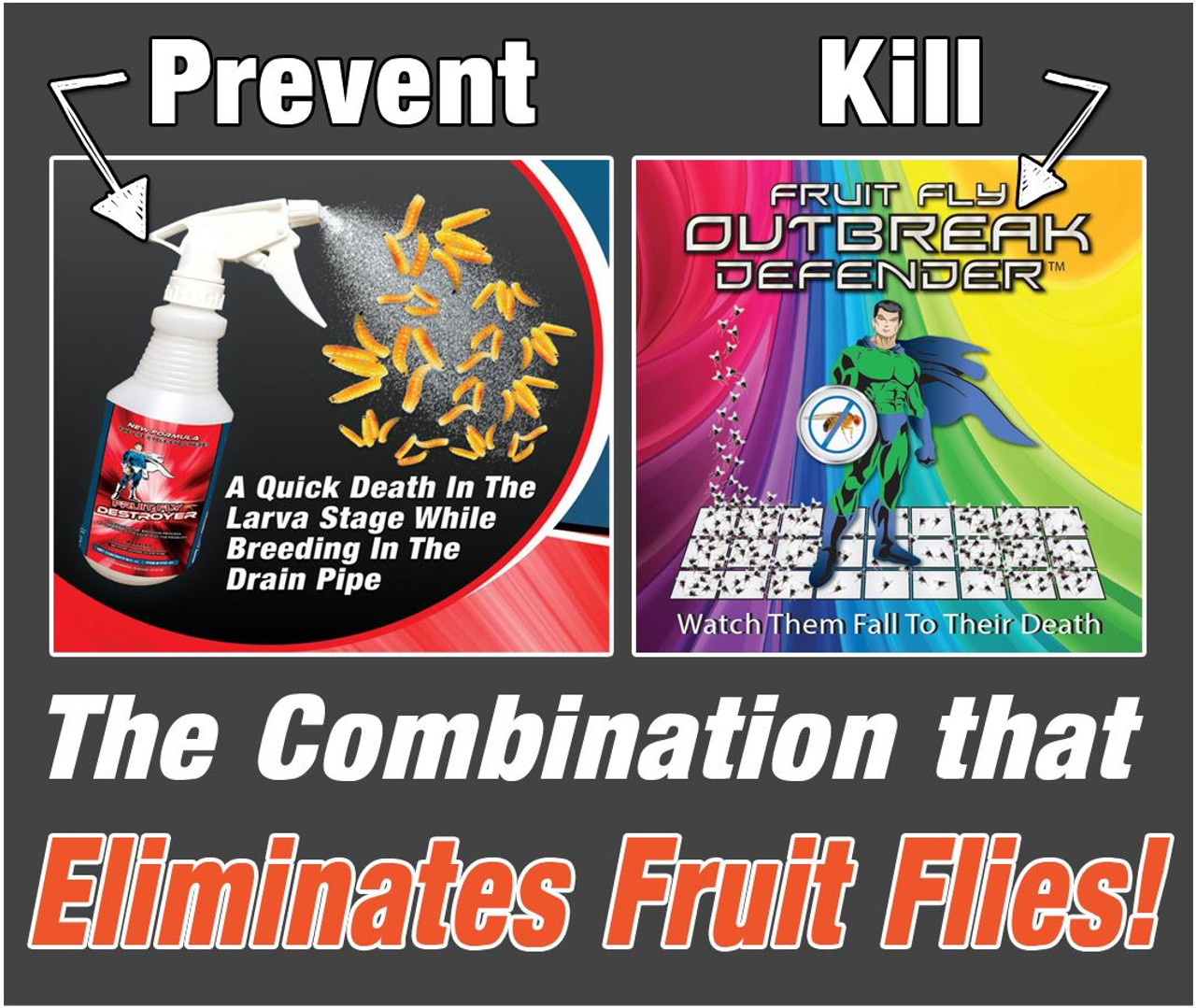 Fruit Fly Elimination Combo Pack
