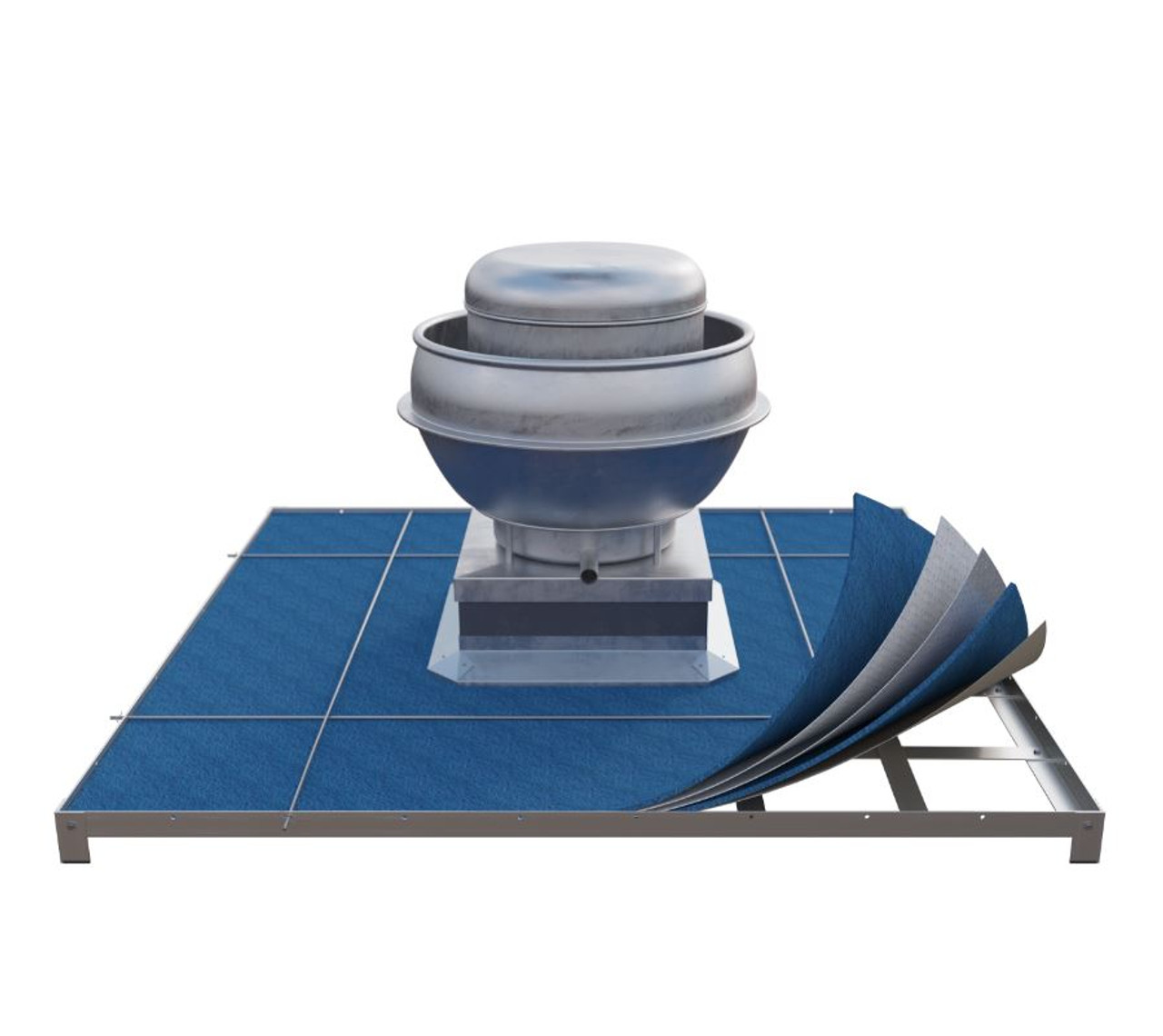 Roof Guardian: five-layered grease filtration system