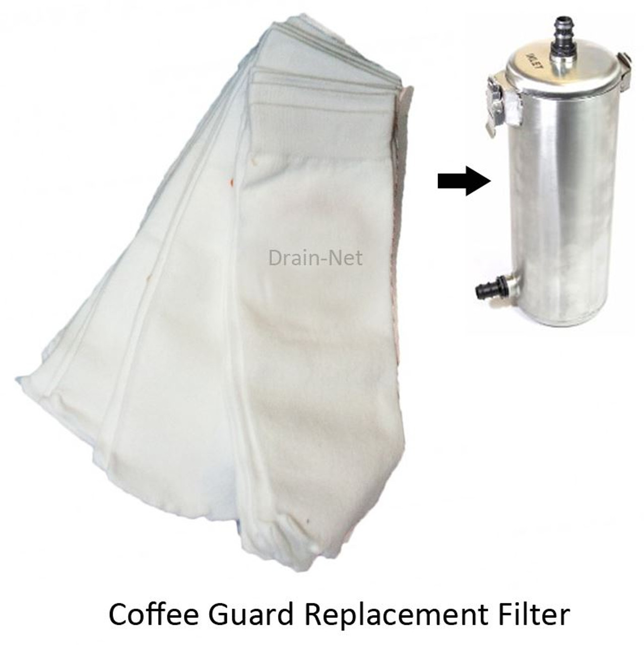 Coffee Guard Replacement Filter Socks (5-Pack)