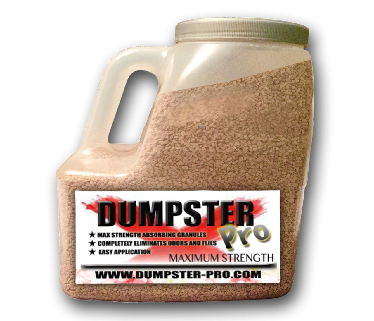 Dumpster Pro - 7 LBS - Garbage Deodorizer Absorbing Granules to Eliminates Odors and Flies