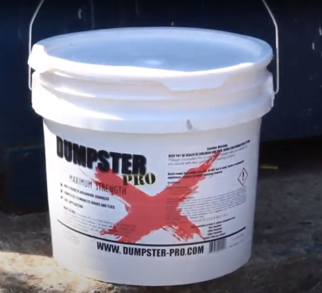 Dumpster Pro - 40 LBS - Garbage Deodorizer Absorbing Granules to Eliminates Odors and Flies