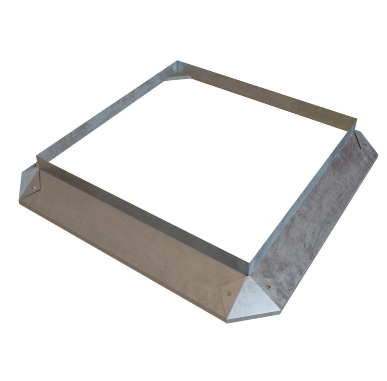 Curb Deflector for Exhaust Fan Base