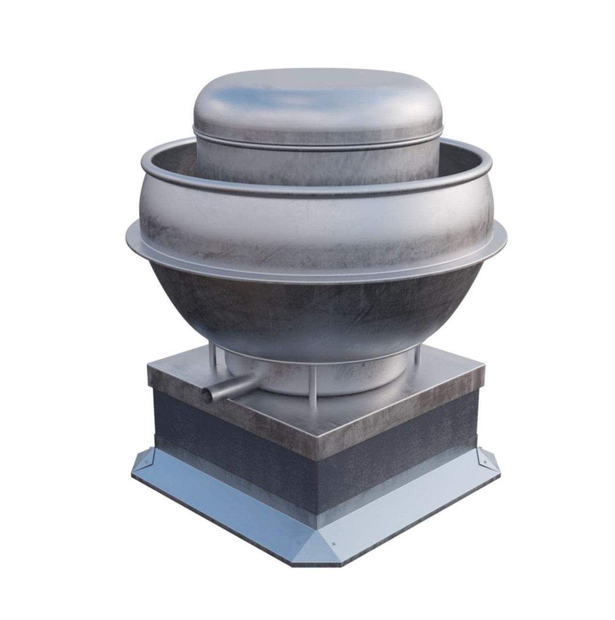 Roof Curbs Deflector for Exhaust Fan Base