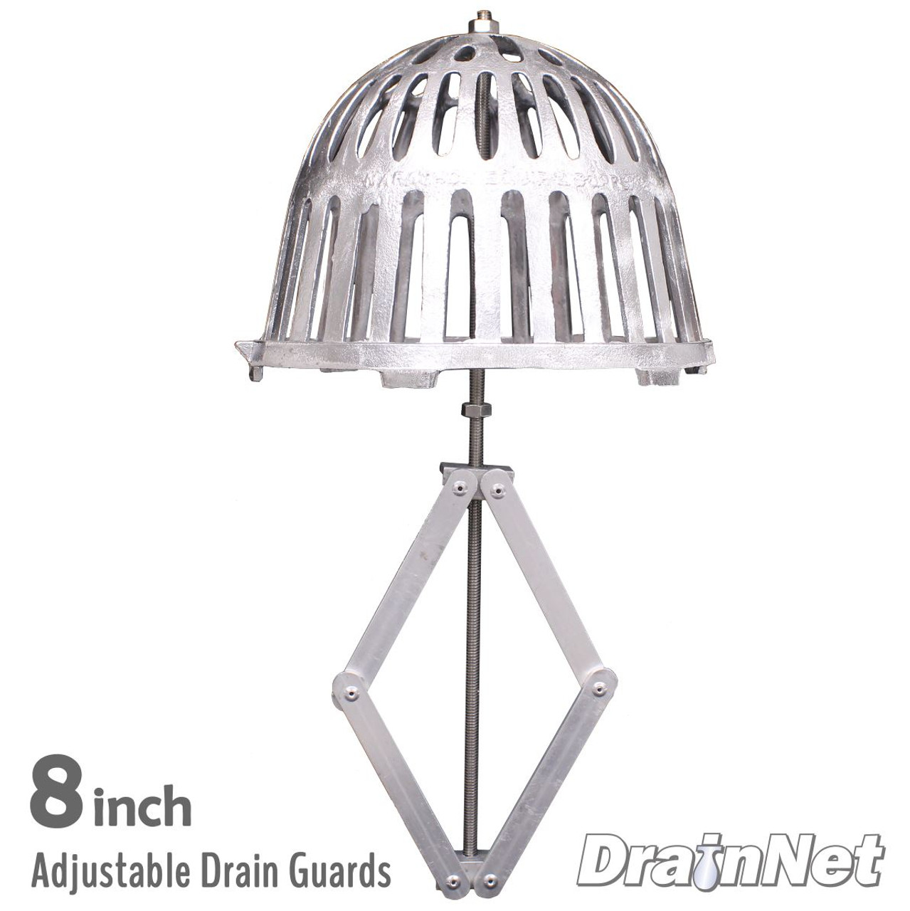 Adjustable Drain Guards for Roof Drains - 8 inch
