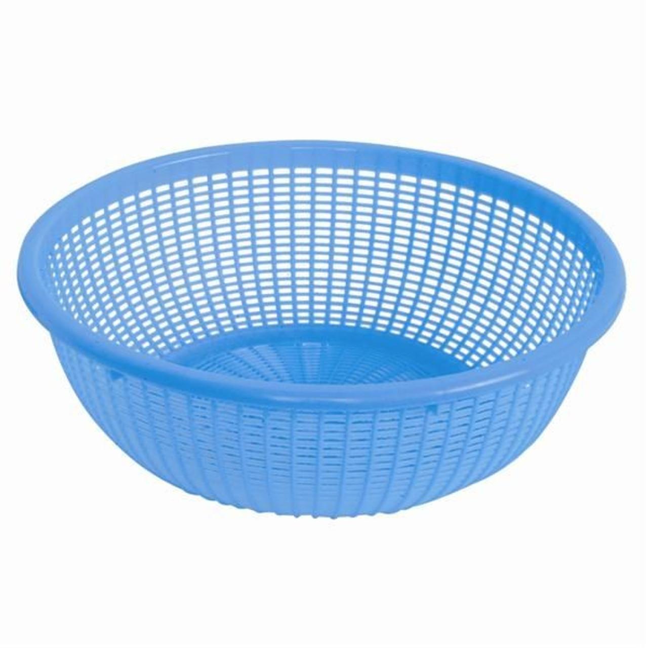 Wash and Rinse Strainer Colander Basket 11.5 inch round