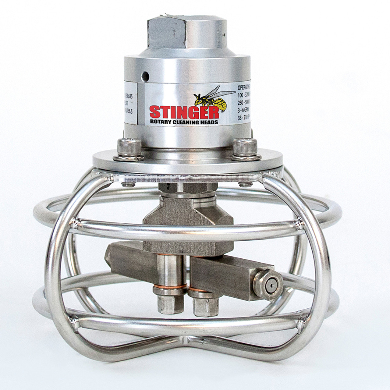 Stinger Rotary Cleaning Heads