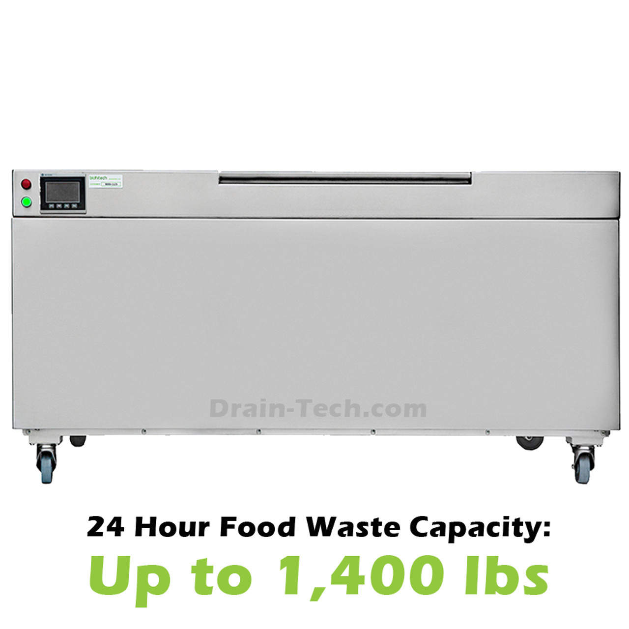 Mangrove Bio-Digester for food waste disposal