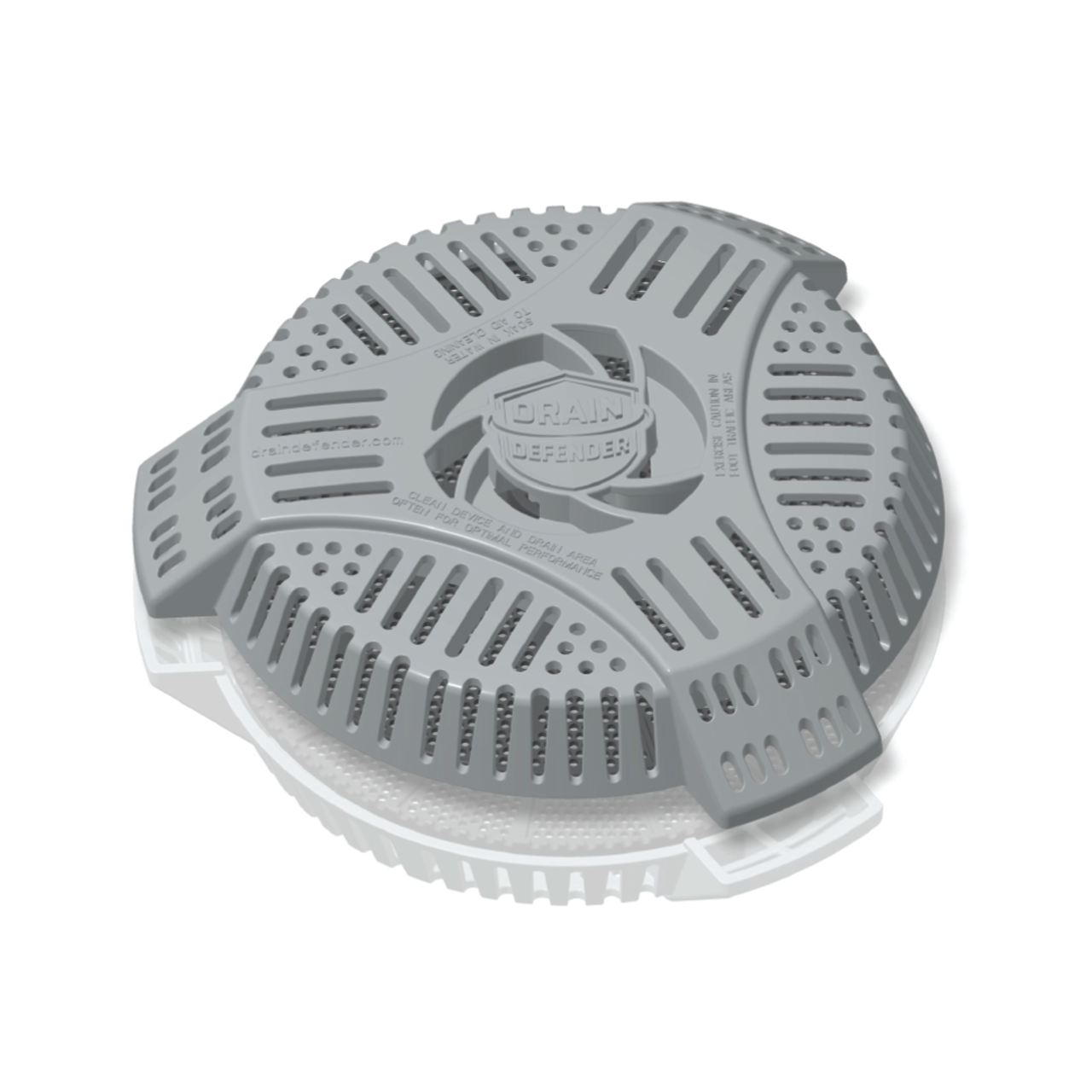 Drain Defender Prevents Clogs and Flooded Basements from Yard Waste