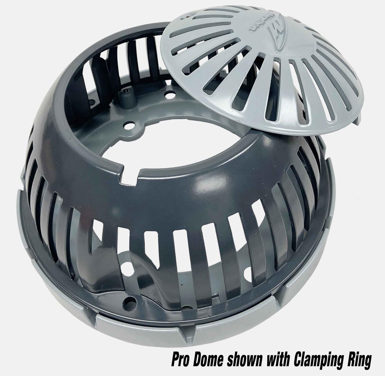 PRO Dome 10 inch cast aluminum dome/strainer