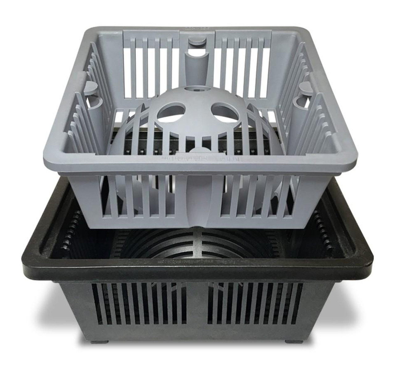 DUO 2-in-1 Floor Sink Basket - 8.5 inch Square, Guardian