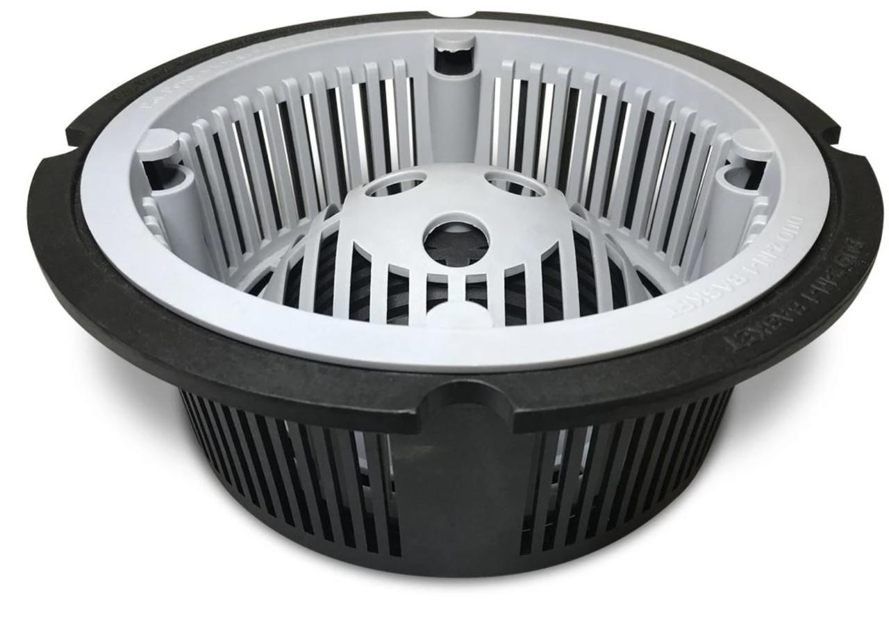 DUO 2-in-1 Floor Sink Basket - 9.5 inch Round Guardian GDL-DUO-4500-BSK-R