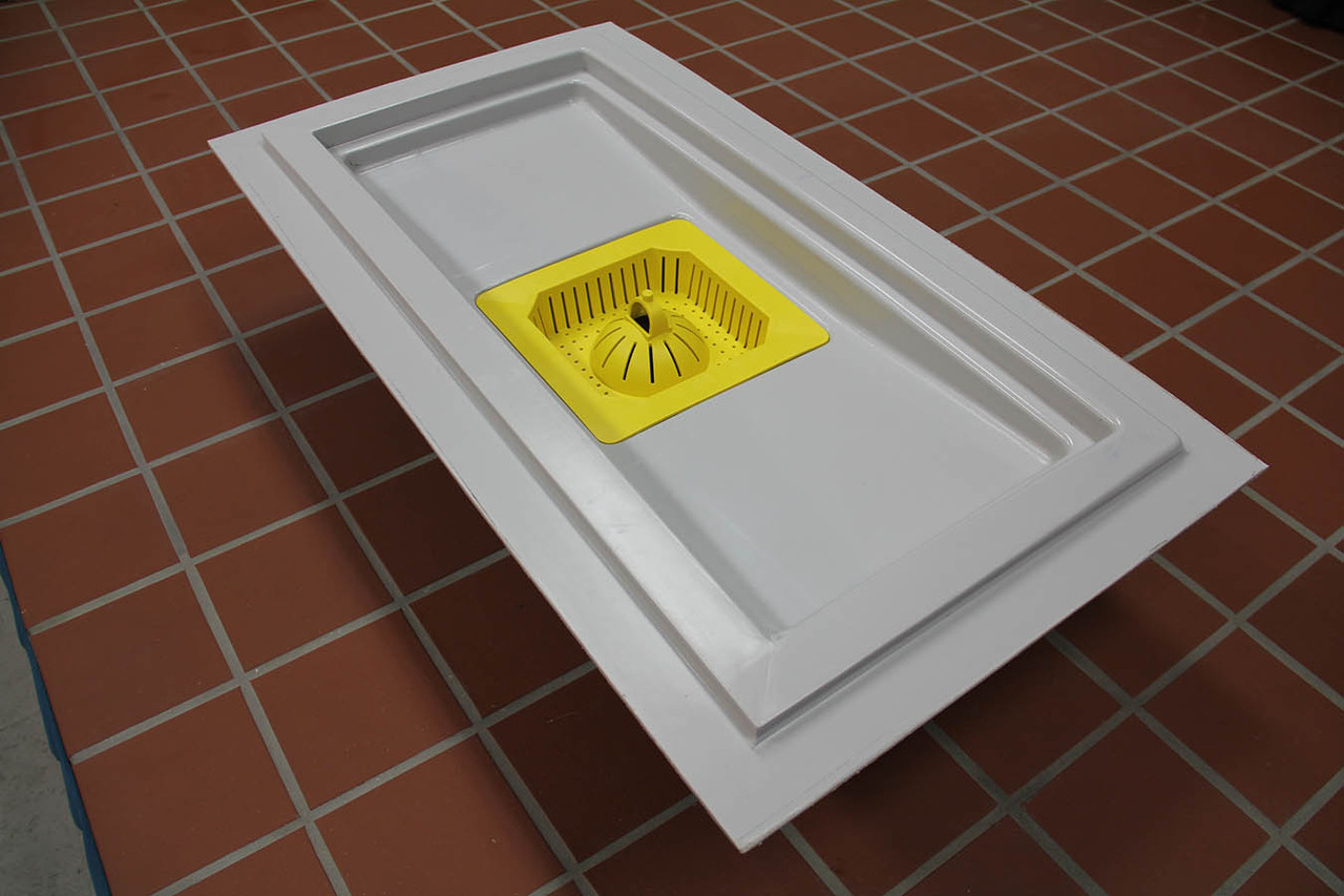 Trough Drain for commercial kitchens and food processing plants