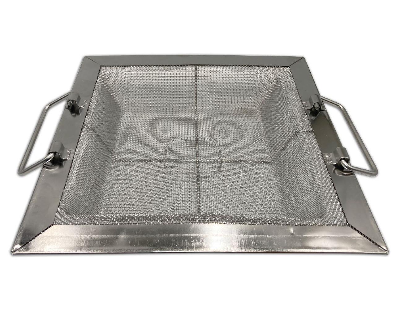"""11"""" x 11"""" Fine Mesh Floor Drain Strainer for 8.5 inch floor sinks"""