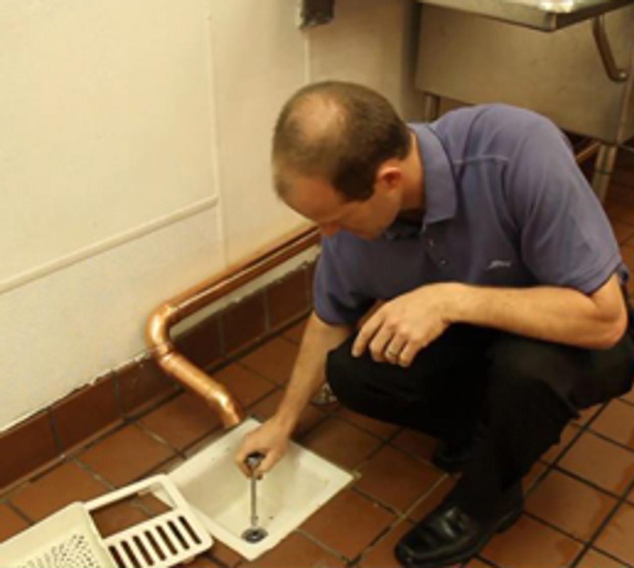 "Guardian Drain Lock 3"" (for floor sink drains)"