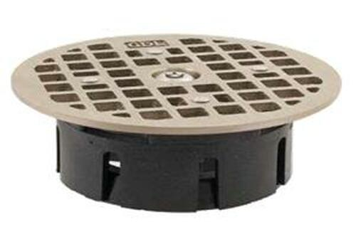 "Guardian Floor Drain-Lock Round - 4.7"" Smith Drain"