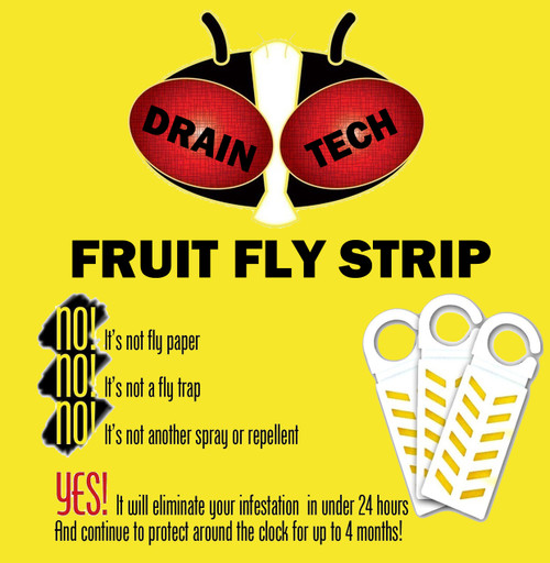 Fruit Fly Bar Pro (10-Pack) Insecticide Vapor Strip