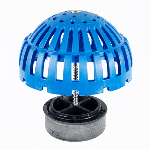 Locking Dome Strainer Kit - 4 inch